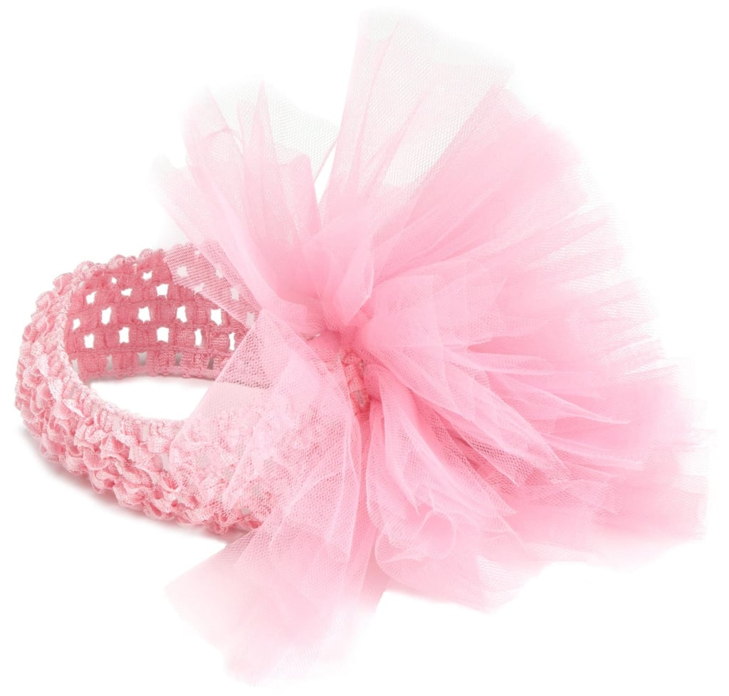 Mud Pie Newborn Tulle Puff Headband