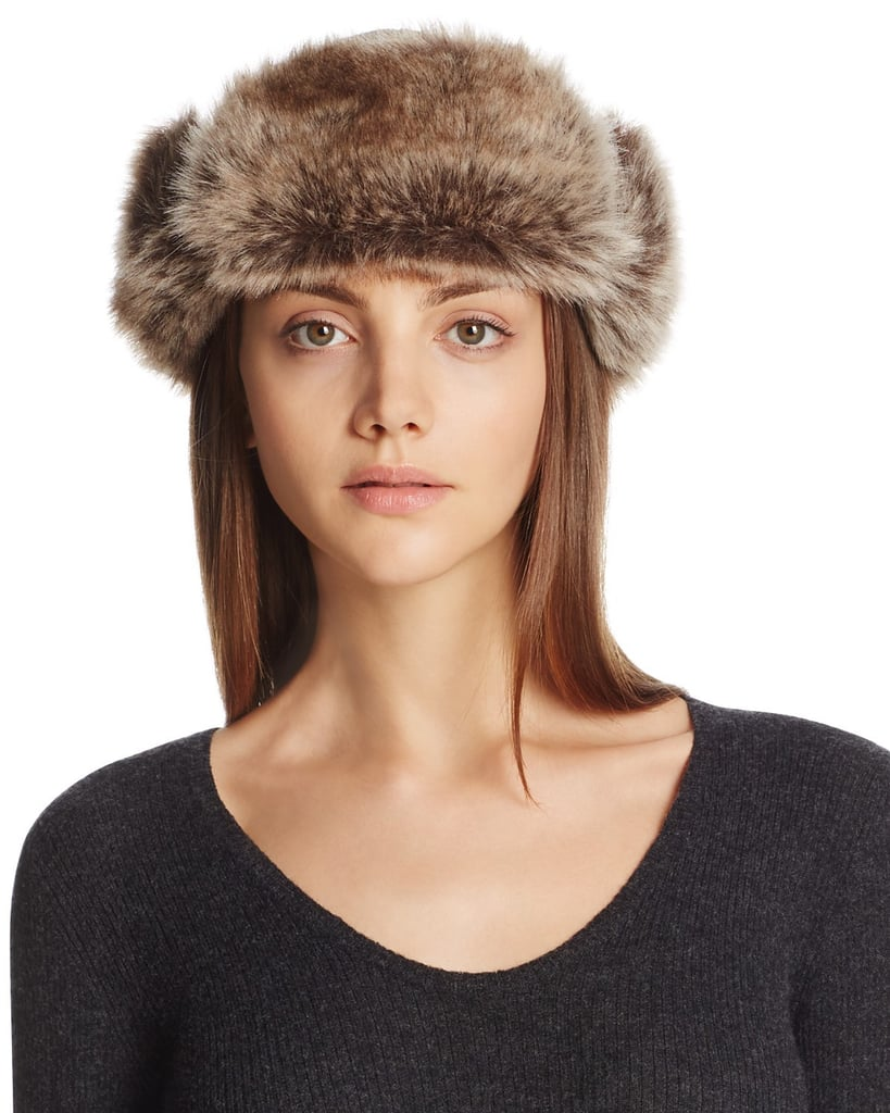 Barbour Ambush Hat with Faux Fur Cuff