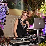 The cute DJ of the evening.