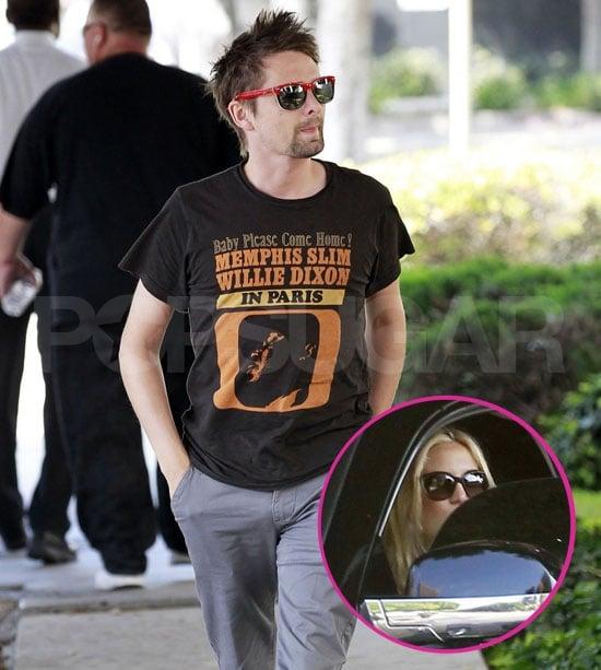 Kate Hudson Gets Behind the Wheel to Run Errands With Matt Bellamy