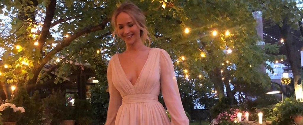 Jennifer Lawrence Engagement Party Dress