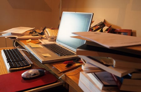 Feeling Drained? Clean Up Your Desk