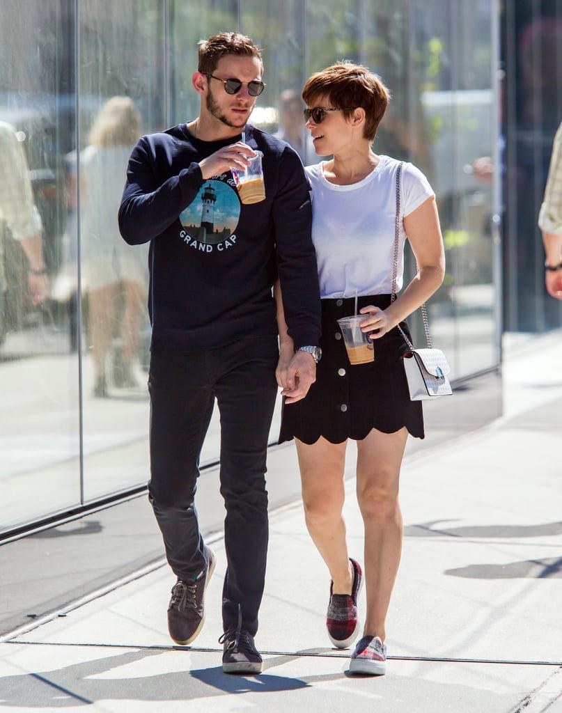 An Autumn Romance Looks So Good on Jamie Bell and Kate Mara