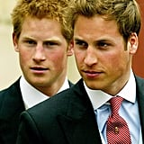 They looked handsome and grown-up while leaving the wedding of their father, Prince Charles, to Camilla Parker Bowles in April 2005.