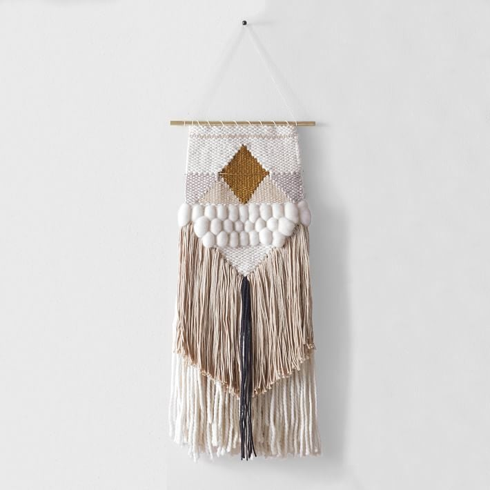Woven Wall Hanging shop woven wall hangings | popsugar home