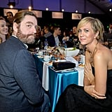 Zach Galifianakis and Kristen Wiig