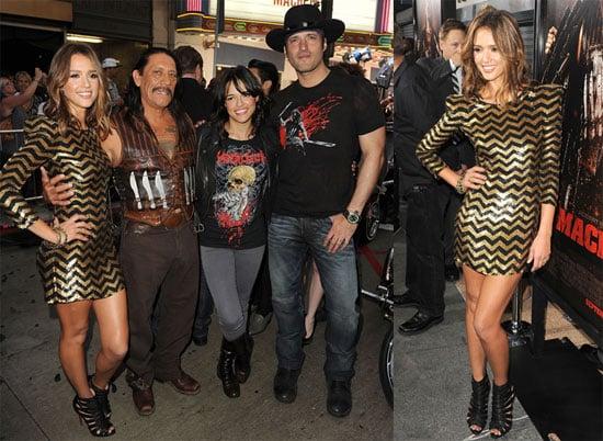 Pictures of Jessica Alba at the Machete Premiere in LA 2010-08-26 03:35:27