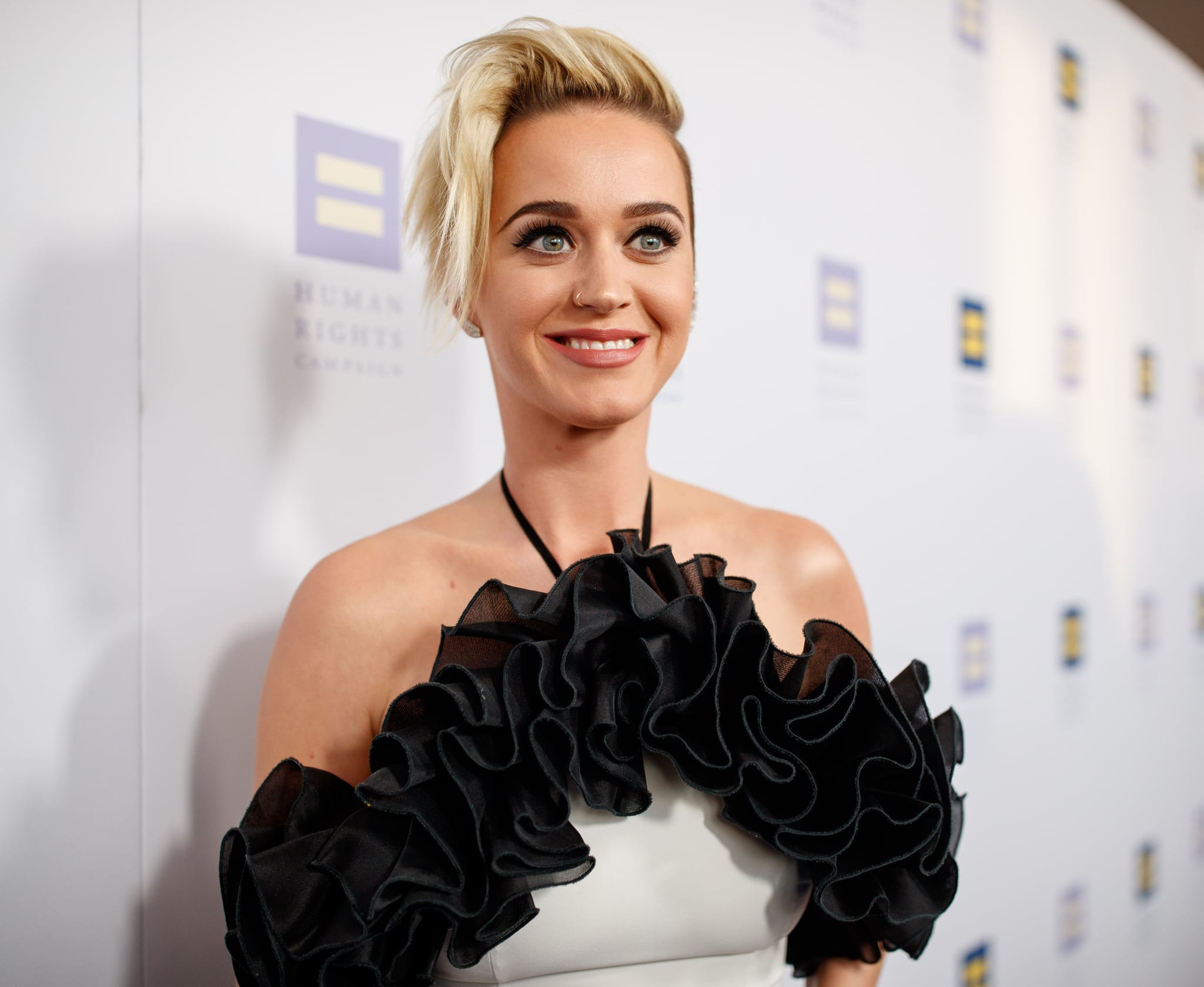 Katy Perry Watches Fans Get Engaged On National Coming Out Day