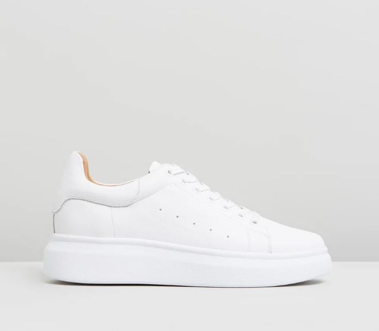 ATMOS&HERE Tabi Leather Sneakers ($109.95)