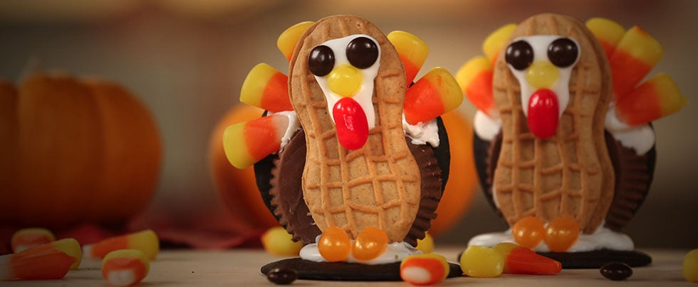 Thanksgiving Turkey Cookies | Video
