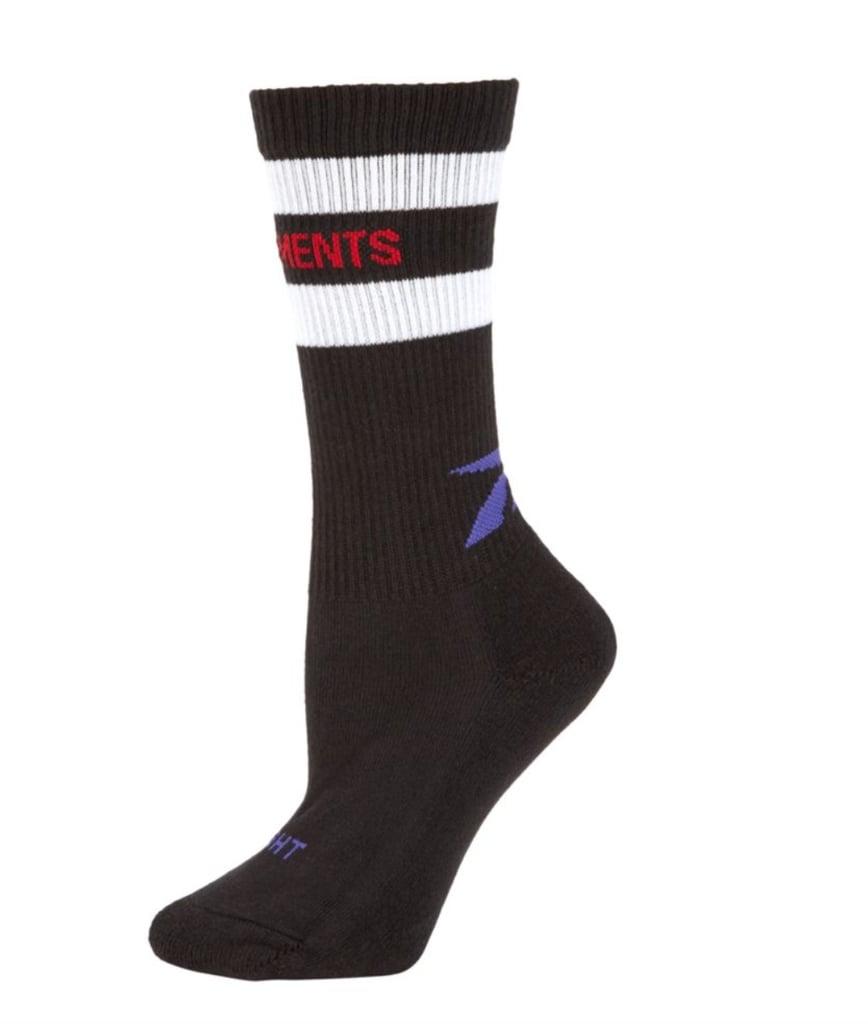 Vetements x Reebok Striped Tennis Socks
