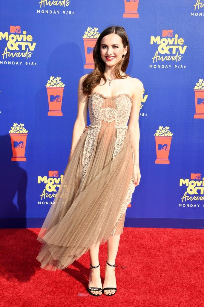 Maude Apatow at the MTV Movie & TV Awards