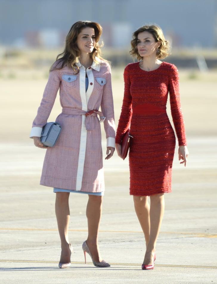 Queen Rania Fashion Queen Letizia | Power ...