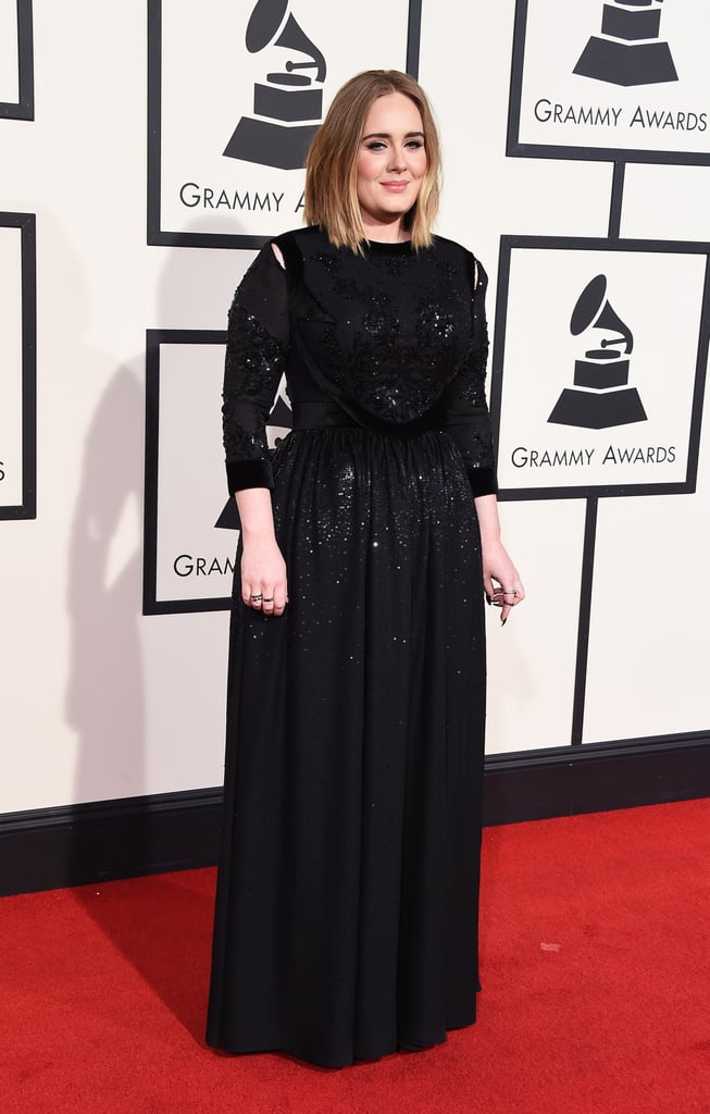 Are You Dazzled by Adele's Sequined Gown?