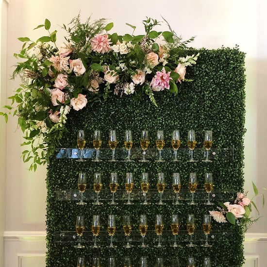 Wedding Champagne Walls