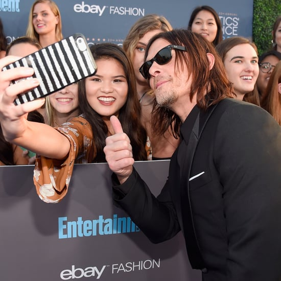 Norman Reedus at 2017 Critics' Choice Awards Pictures