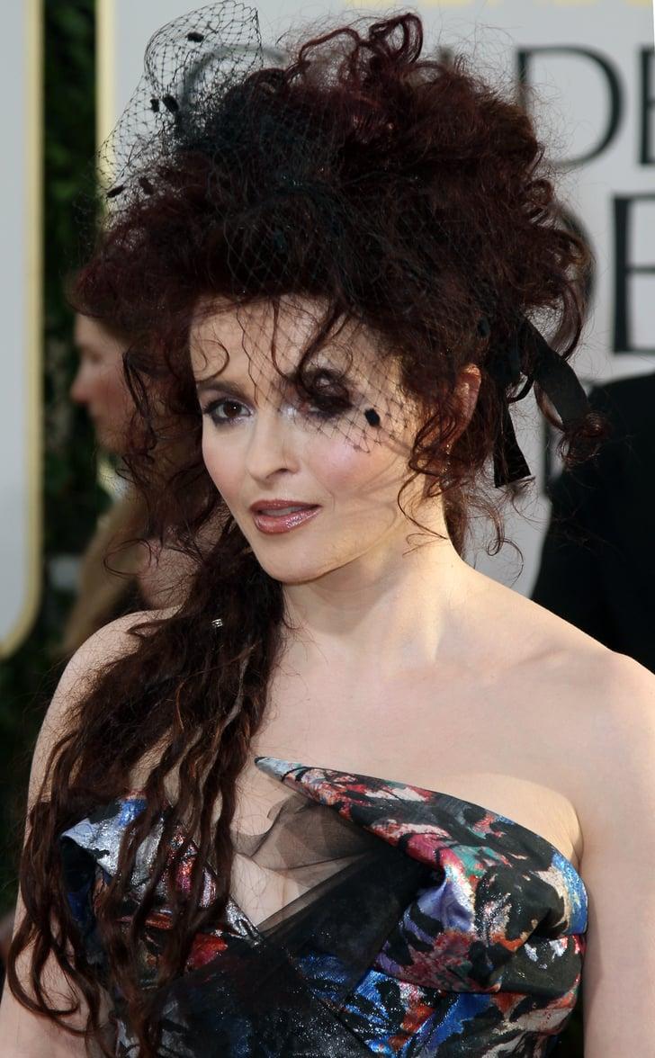Helena Bonham Carter 2011 The Worst Golden Globes Looks