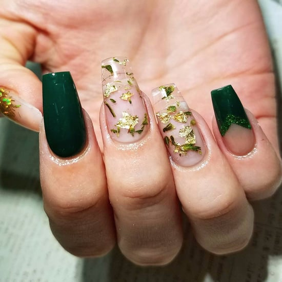 Weed Nail Art Using Actual Marijuana