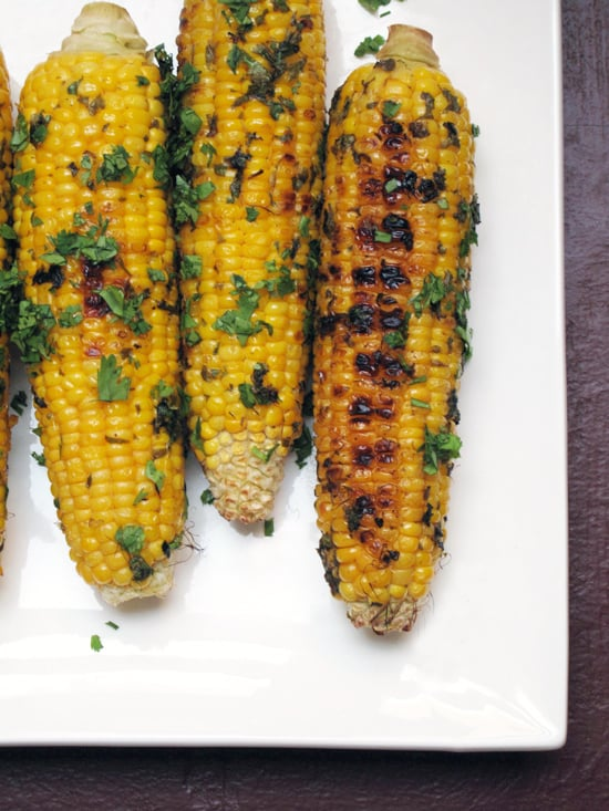 Cilantro-Lime Grilled Corn