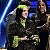 Billie Eilish Song of the Year Speech at Grammys 2020 Video