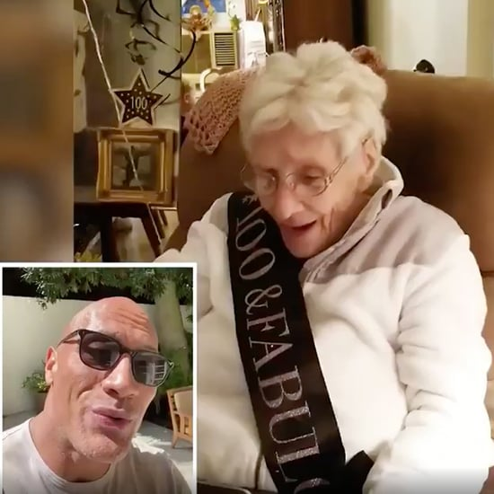 Dwayne Johnson Birthday Video For 100-Year-Old Grandma