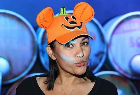 Disney Pumpkin Mickey Hats