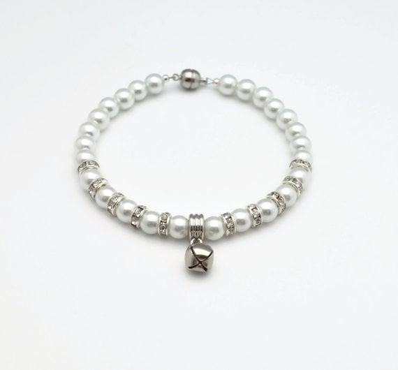 Pearl Cat Collar