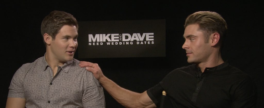 Zac Efron Mike and Dave Need Wedding Dates Interview| Video