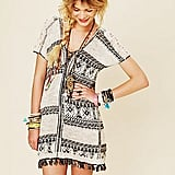 A dress is the easiest way to look festival-ready. We'd love to wear this fringed tunic dress with sandals and lots of colorful accessories for a fun take on concert style.  Free People Festival Tunic Dress ($168)