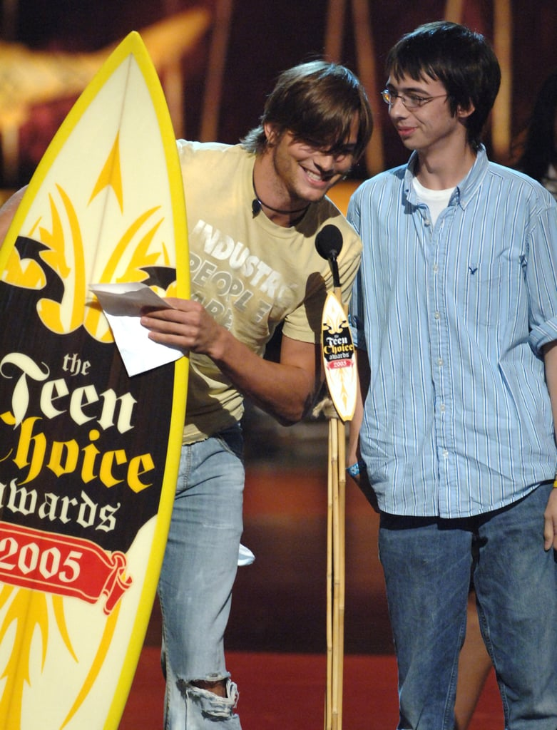 Ashton Kutcher Won Choice TV Comedy Actor For That '70s Show