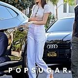 Kendall Jenner Wearing New Balance x Casablanca Sneakers