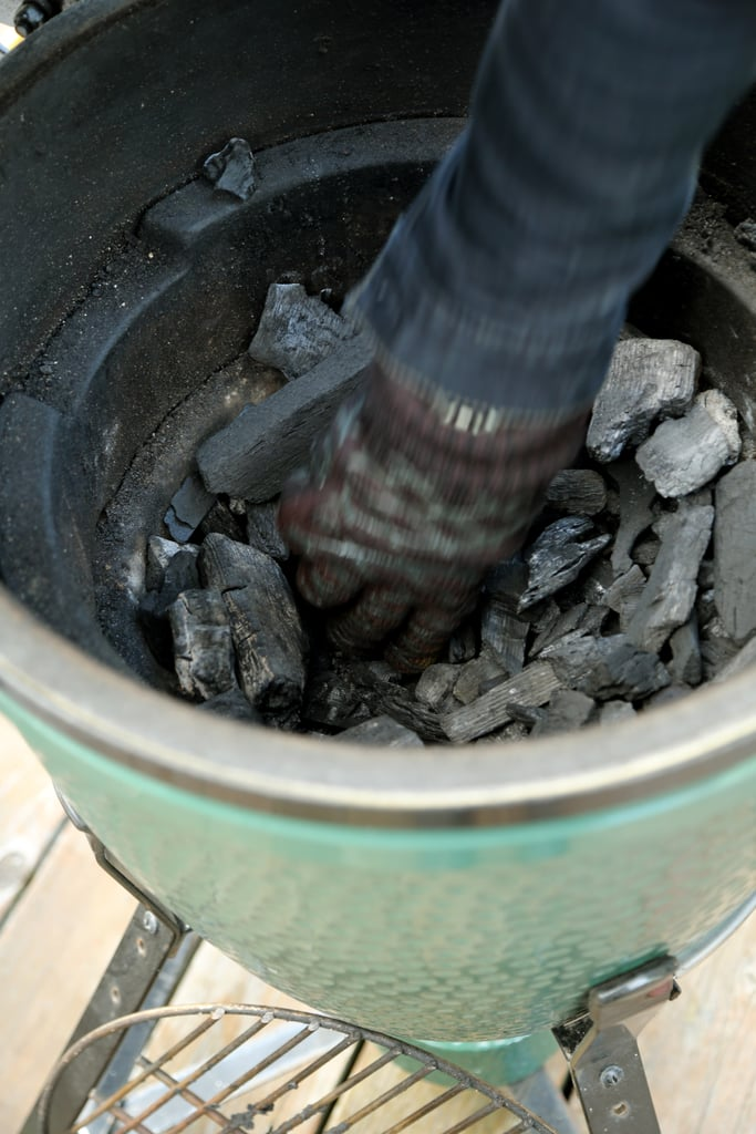 Start With 100% Natural (or Organic) Lump Charcoal