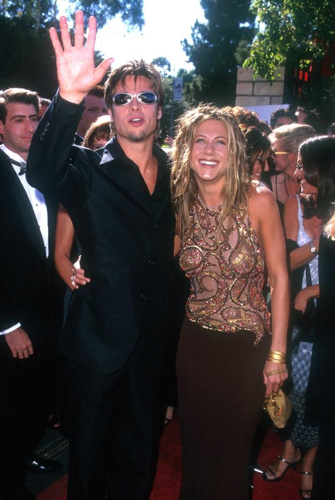 Brad Pitt and Jennifer Aniston, 1999