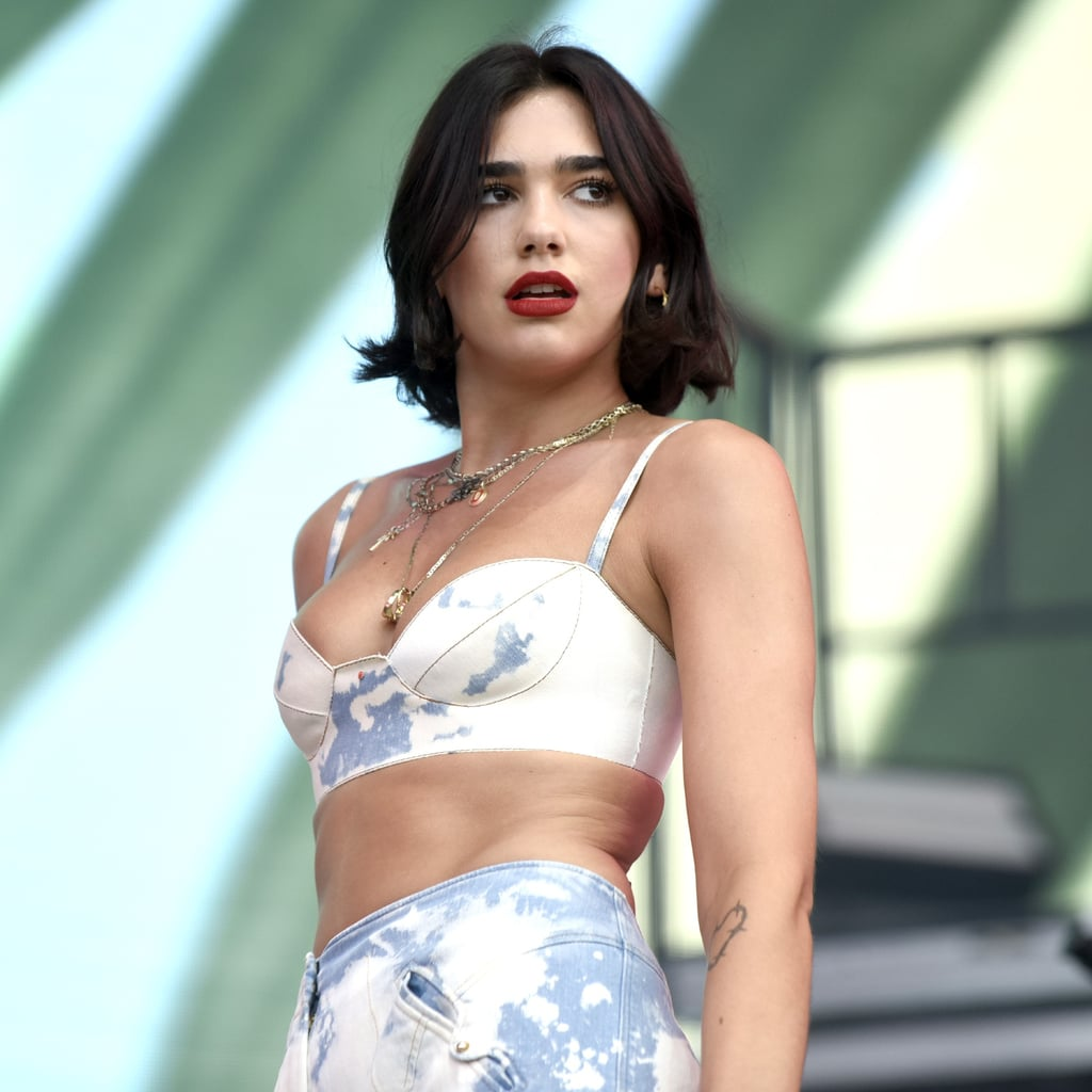 Dua Lipa Best Beauty Instagrams