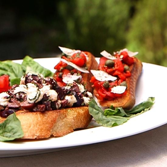 Bruschetta With 3 Toppings