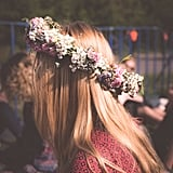 Make a flower crown.