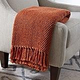 Stone & Beam Modern Woven Farmhouse Throw Blanket