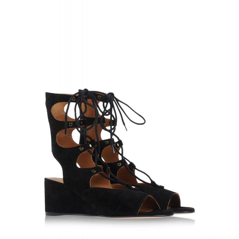 Chloé Suede Lace-Up Sandal ($1,075)