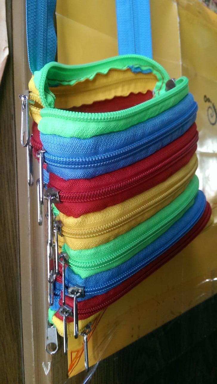 Zipper Bag | Cool Upcycling Projects | POPSUGAR Smart ...