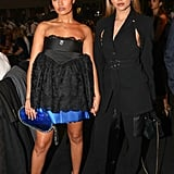 Leigh-Anne Pinnock and Jade Thirlwall at the British Fashion Awards 2019 in London