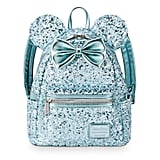 Disney Arendelle Aqua Frozen Mini Backpack by Loungefly