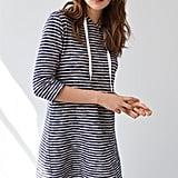 Lou & Grey Pomona Stripe Hoodie Dress