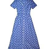 HVN Label Purple Daisy Long Maria Dress