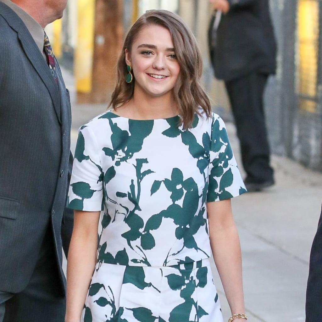 Maisie Williams' Latest Look Is Chic and Springtastic