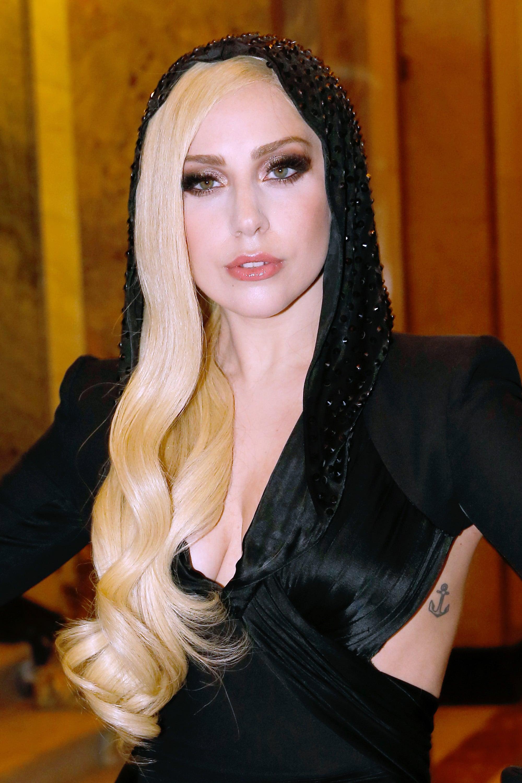 Lady Gaga at Atelier Versace