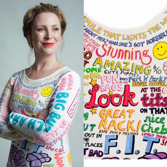 Woman Paints Comments About Her Body on a Dress | Video