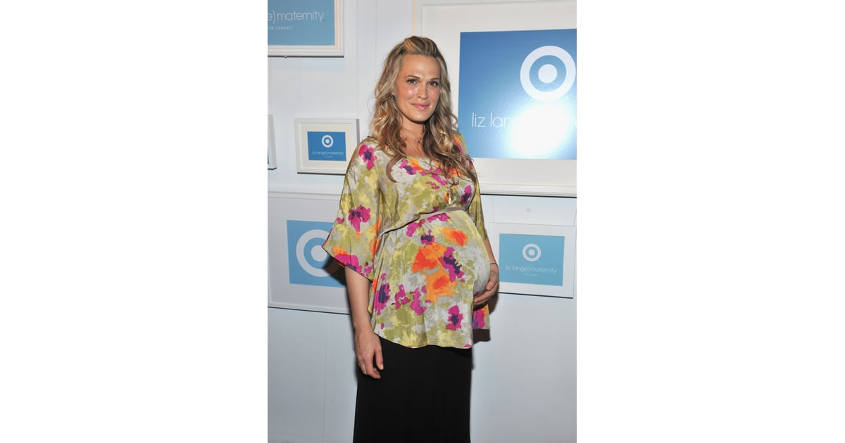 e16f50055e775 Molly Sims wore Liz Lange for Target to an NYC event to celebrate the |  Best Celebrity Family Photos of 2012 | POPSUGAR Family Photo 35