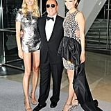 Michael Kors with Karolina Kurkova and Cody Horn. Source: Billy Farrell/BFAnyc.com
