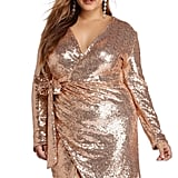 Windsor Michelle Gold Sequin Wrap