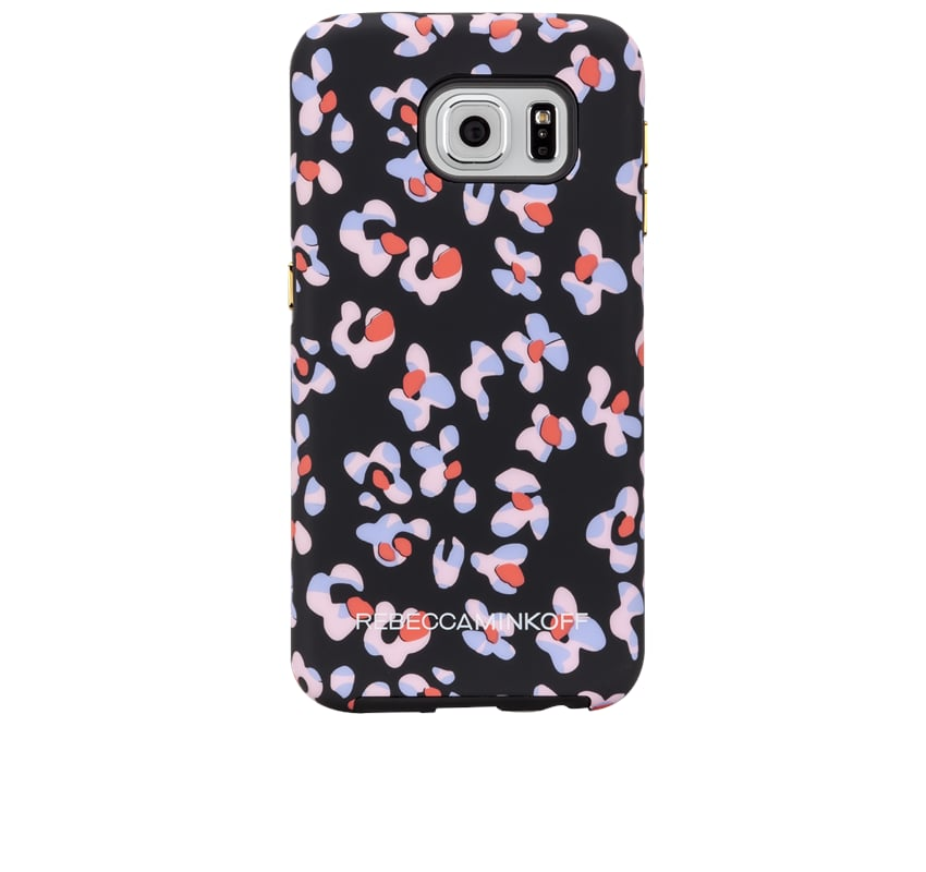 Rebecca Minkoff Black Leopard Floral Print Case ($38)